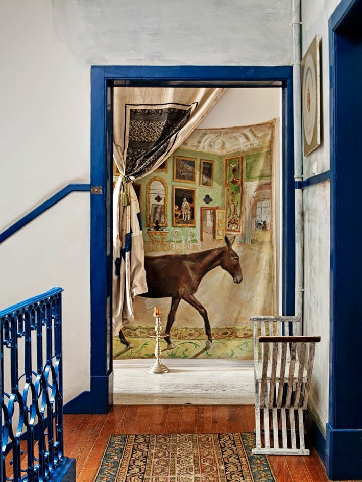 bohemian homes interior design eclectic horse