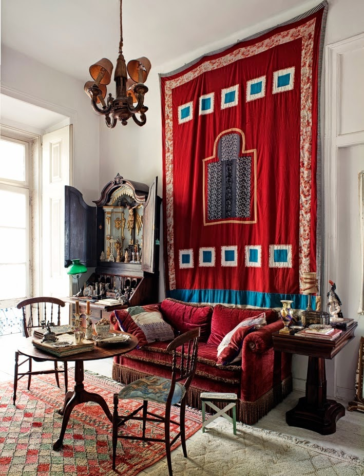 bohemian homes interior design eclectic lisbon